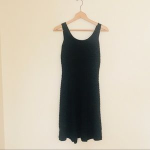 Jessica Simpson Bandage Fit and Flare Dress Black